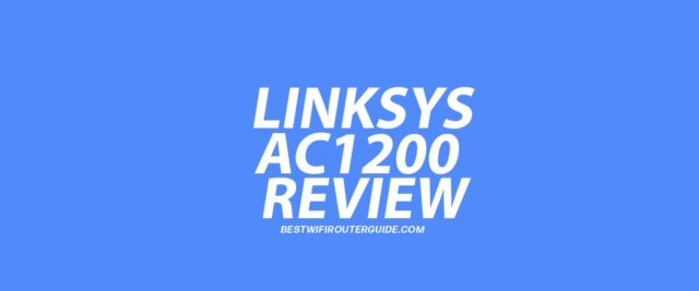 Linksys WiFi Router Dual-Band AC1200 Review
